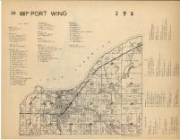 Port Wing T50N-R8W, Bayfield County 1954